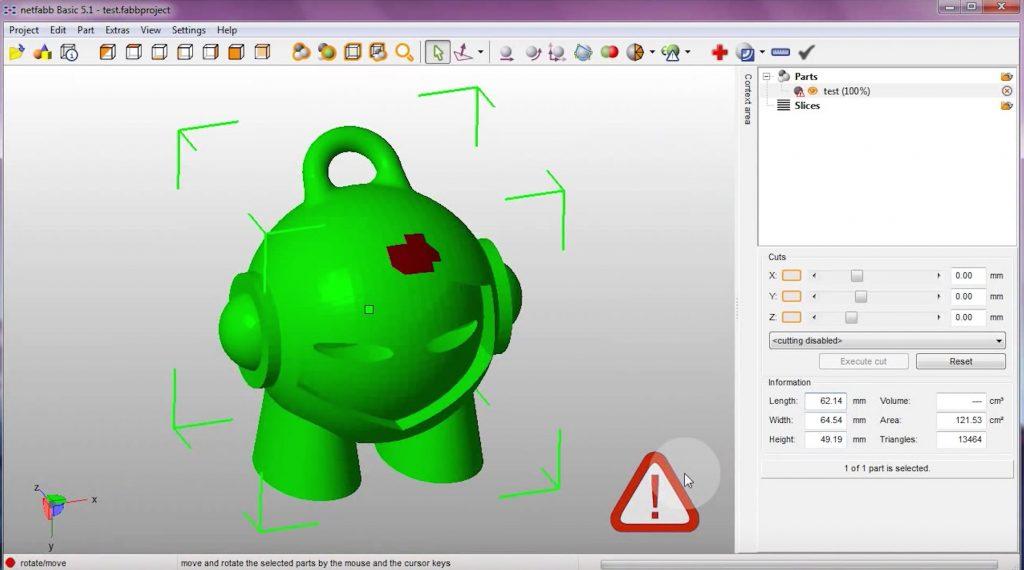 Repair STL file tutorial – Ioanna